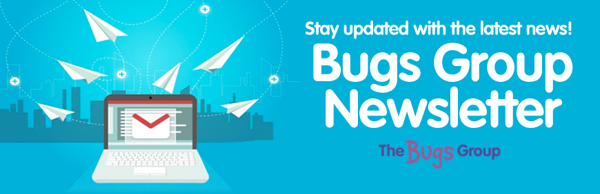 Sign up for the latest updates and offers with The Bugs Group!