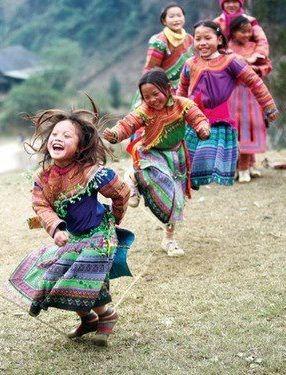 happy kid dance