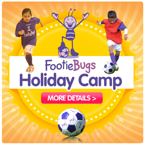 FootieBugs Holiday Camp - Fun football based holiday camp for kids!