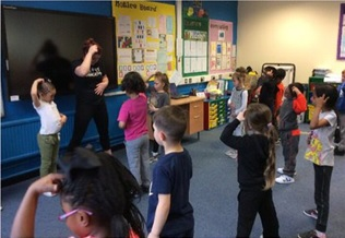 DanceBugs dance classes within school - National School Sport Week