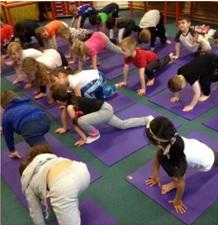 YogaBugs running classes within schools - National School Sport Week