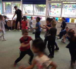 MultiBugs classes within schools - National School Sport Week