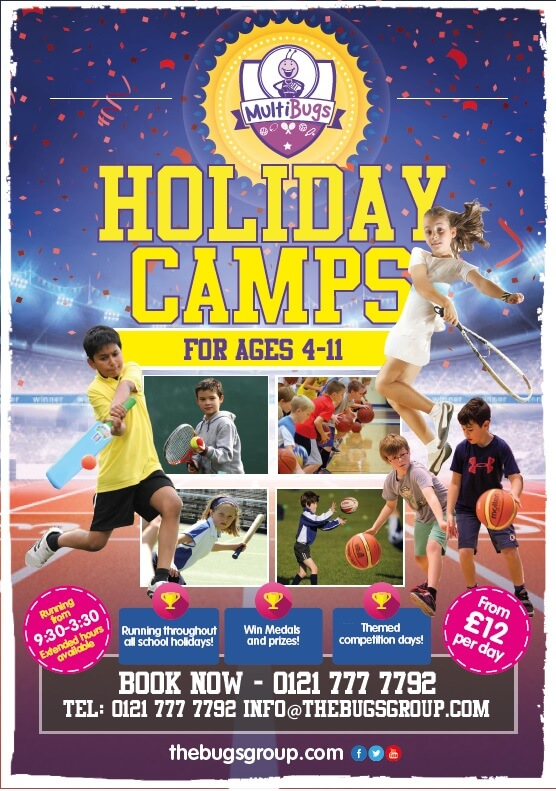 MultiBugs Kids Summer Holiday Camp Harborne
