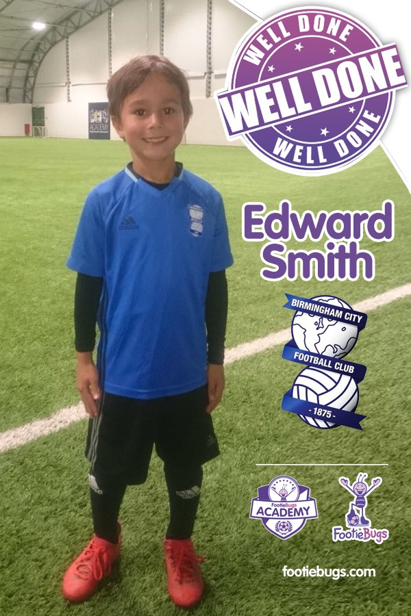 FootieBugs Football Academy in Solihull - Edward Smith BCFC
