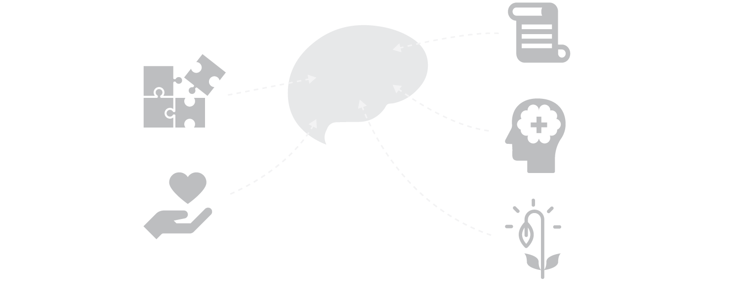 illustration of a childs mind