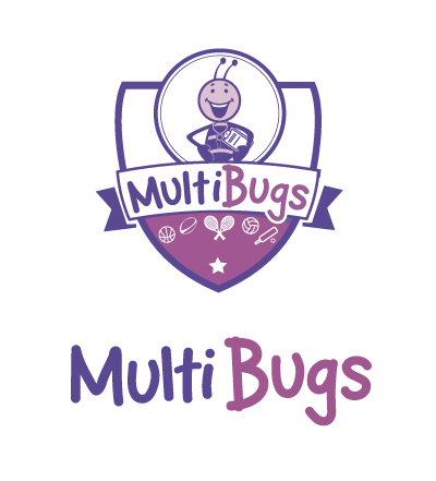 multibugs logo shield showing multi sports