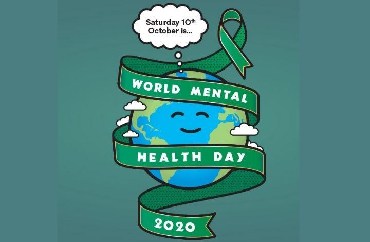 world mental health day 2020 image of a globe