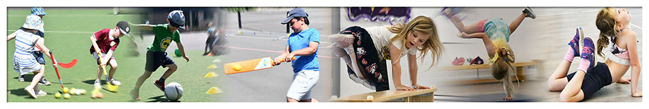 bugs group holiday camp kids sports montage banner image