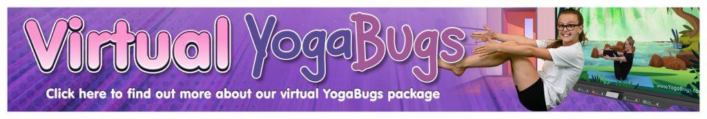 Virtual yogabugs banner