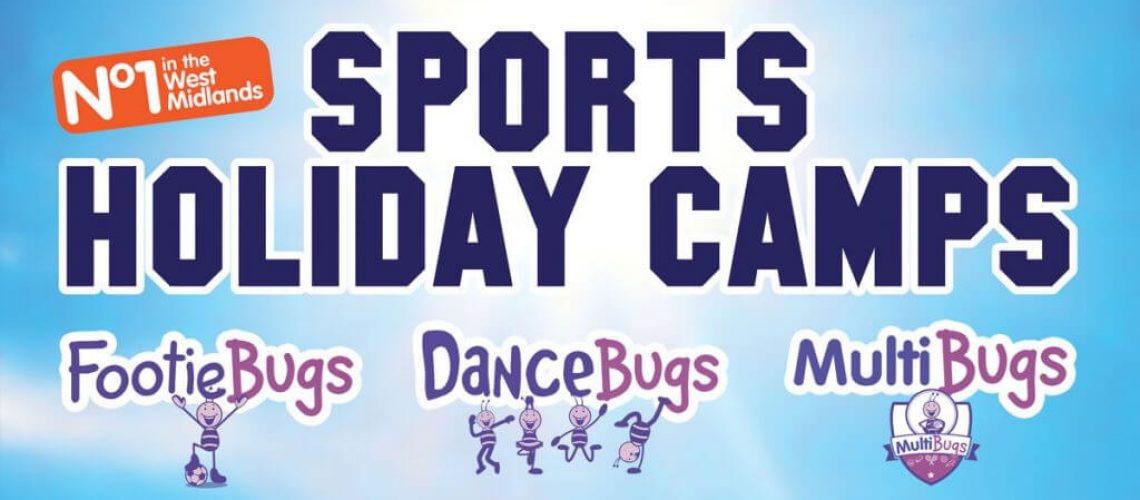 Bugs group Holiday Camp adverrt