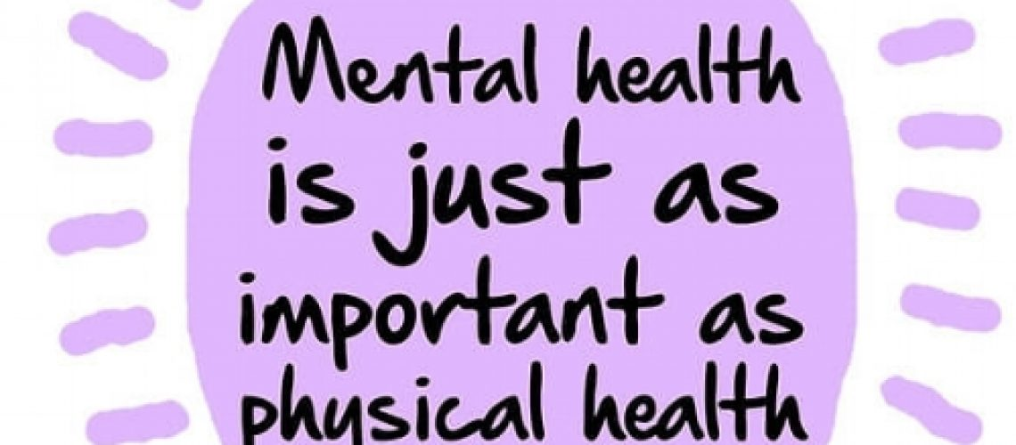 image showing mental health is just as important as physical health